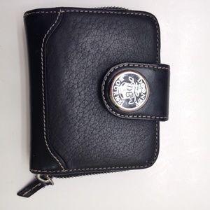 Black Leather Dooney & Bourke Wallet